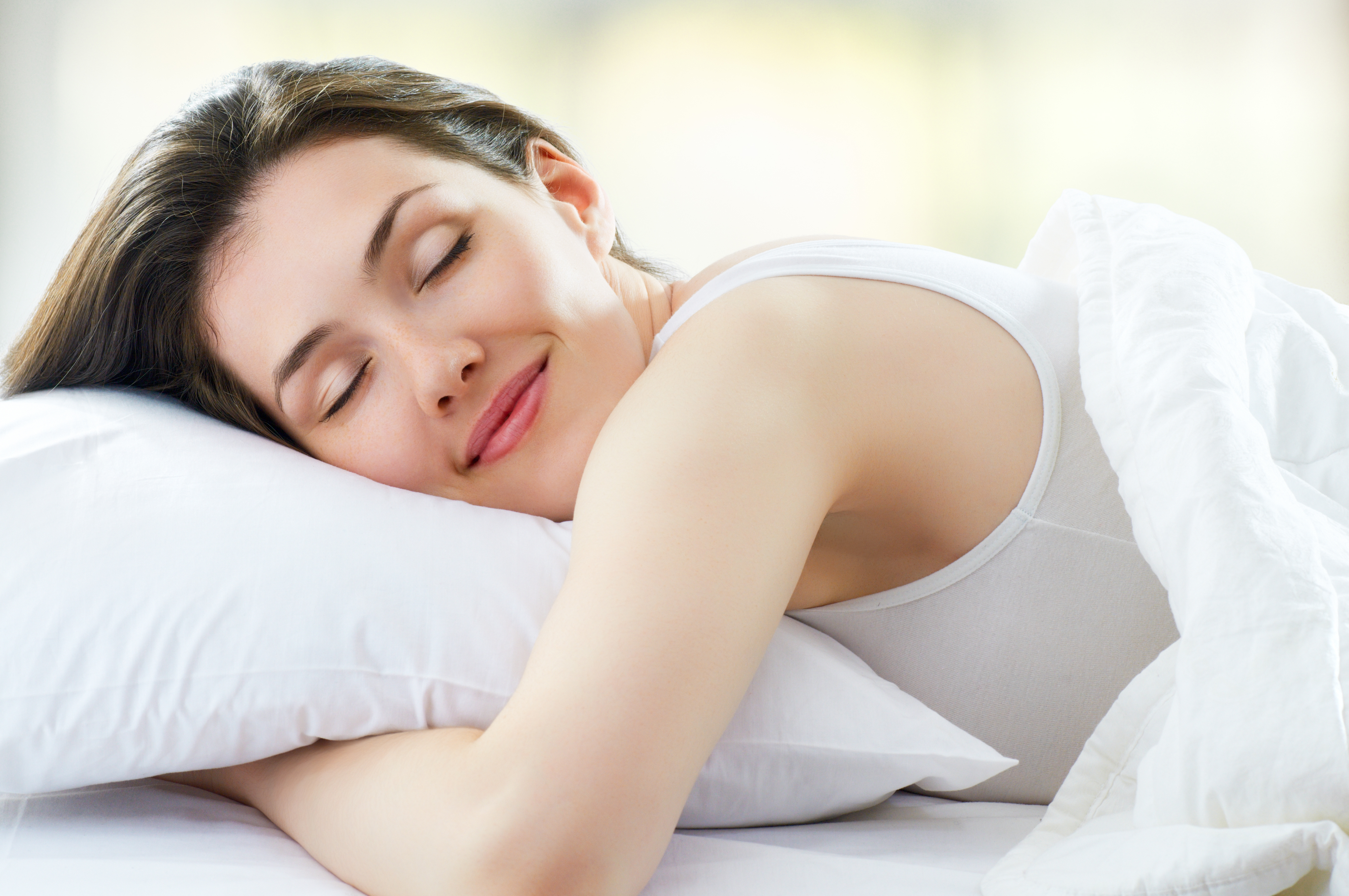 sleeping after a chemical peel from Concordia Star Med Aesthetics